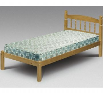 Pickwick Single Bedframe (3Ft) - Pine